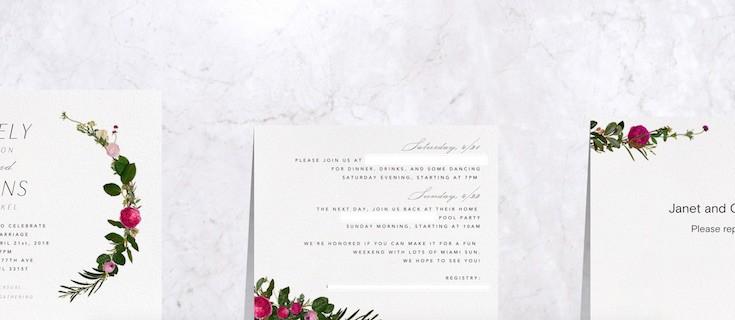 save money budget entertaining ideas - paperless post invitation