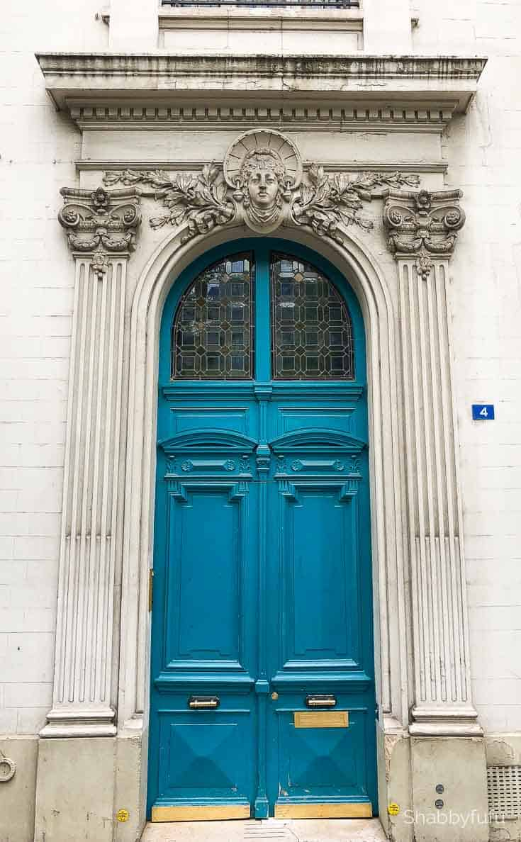 Paris travel tips ornate door