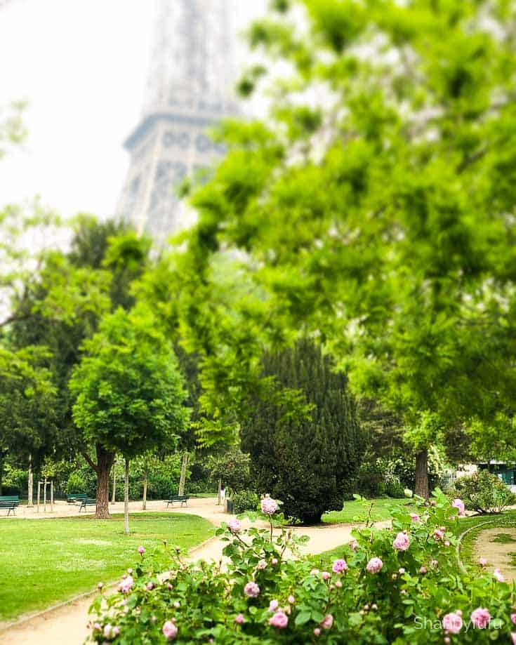 Paris travel tips champs du mar