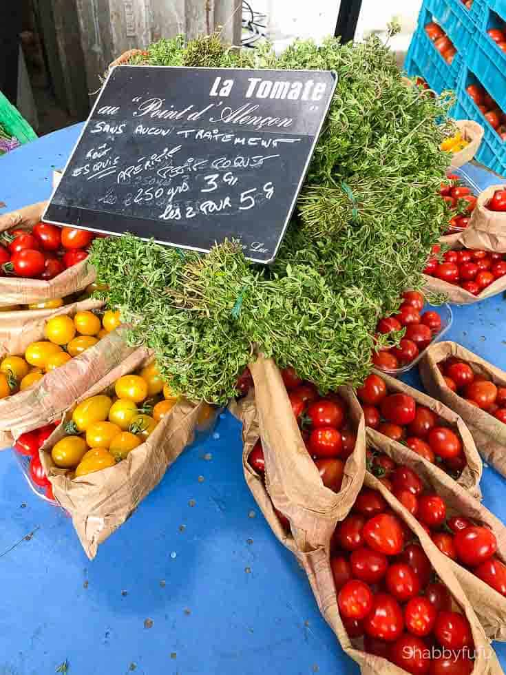 Paris travel tips open air market