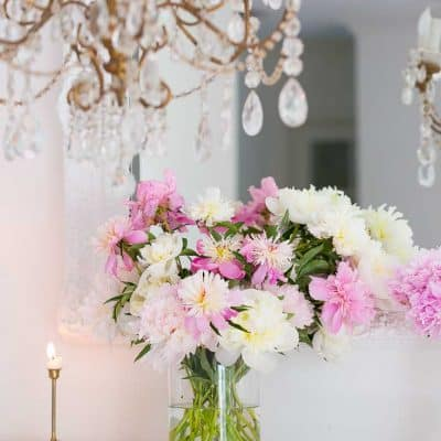 Blush Pink and White Summer Decorating Ideas