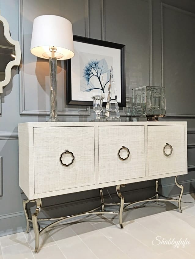 designer furniture Bernhardt modern credenza