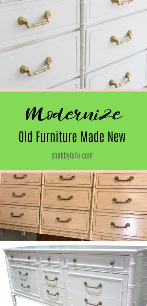 old furniture made new