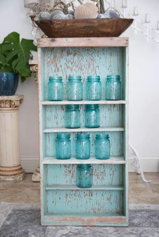 shabbyfufu shop aqua shelf