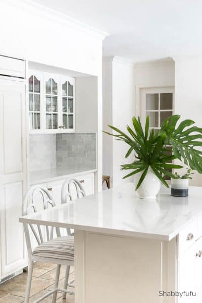 Scandinavian interior design white kitchen
