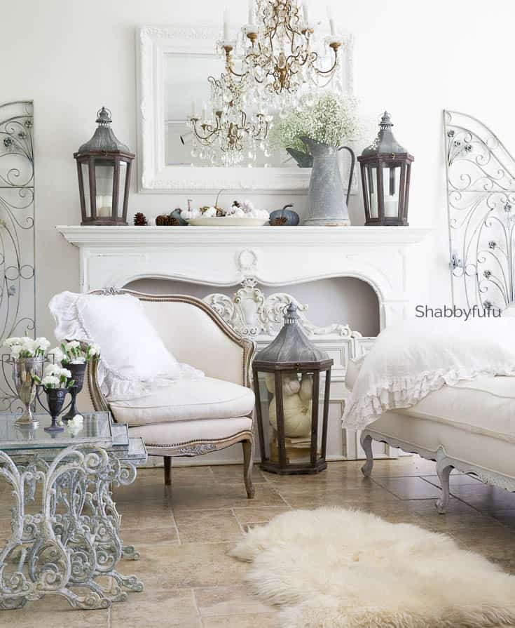 French Country Fall Decorating