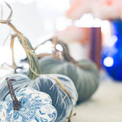 Chinoiserie Pumpkins DIY – The Easy Way
