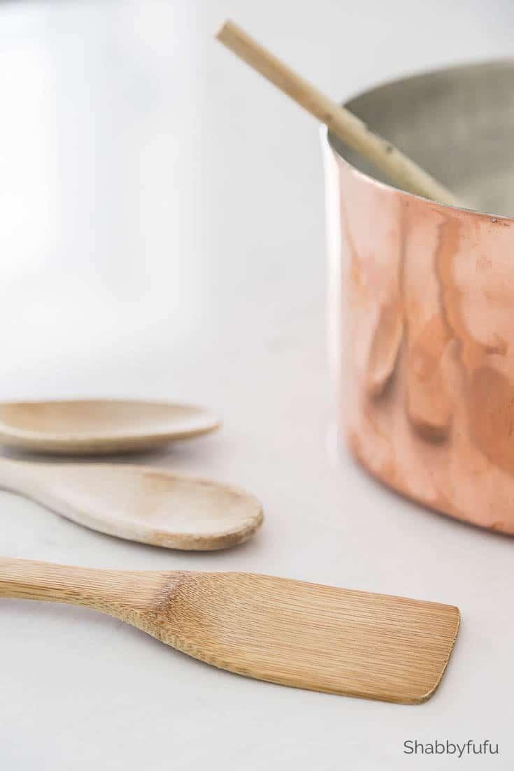 resale shops - wooden spoons