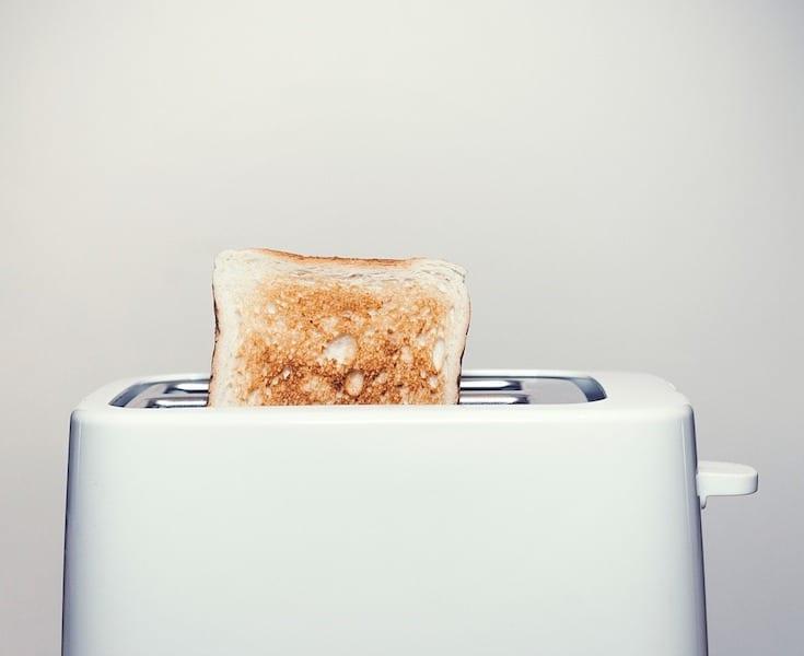 thrift shop toaster