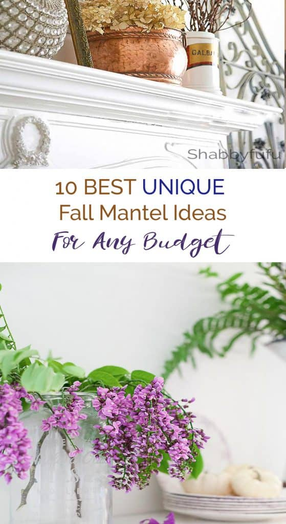 unique fall mantel decorating ideas