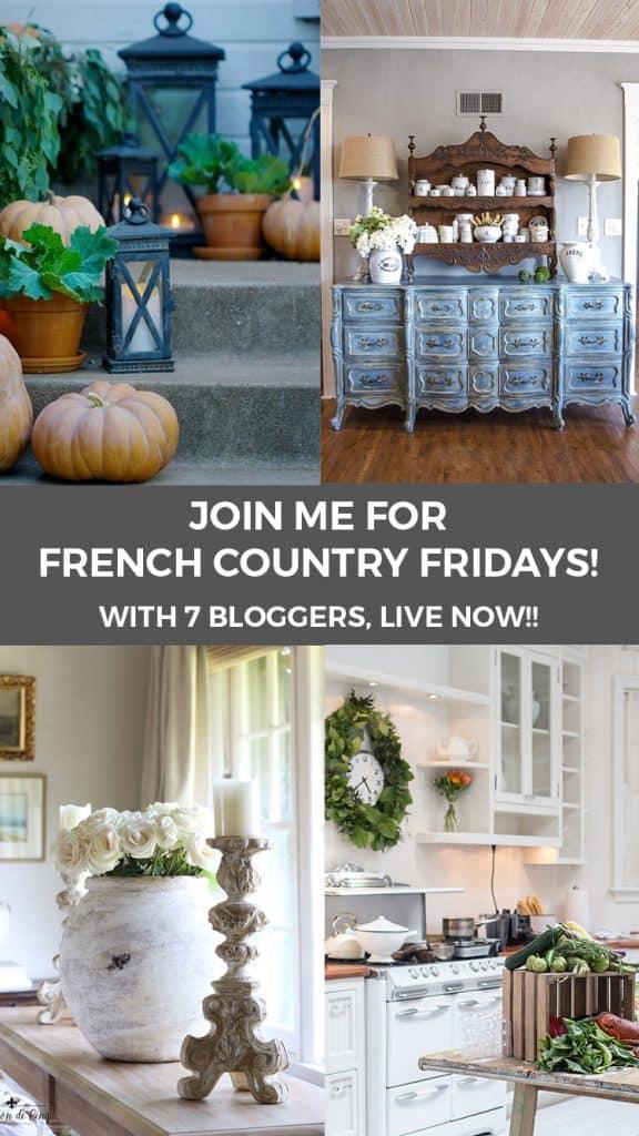 French Country Fridays Shabbyfufu