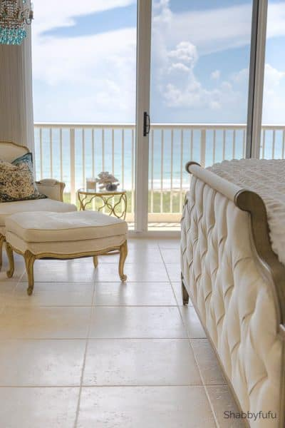 beach house coastal bedroom fall