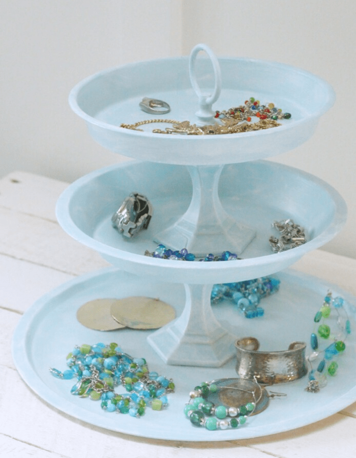 Unique Tiered Trays Diy Projects Shabbyfufu Com