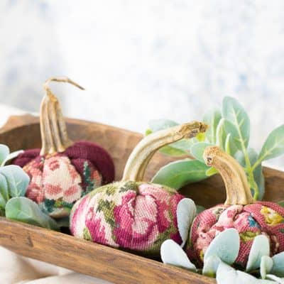 Needlepoint Pumpkins For Fall Decorating