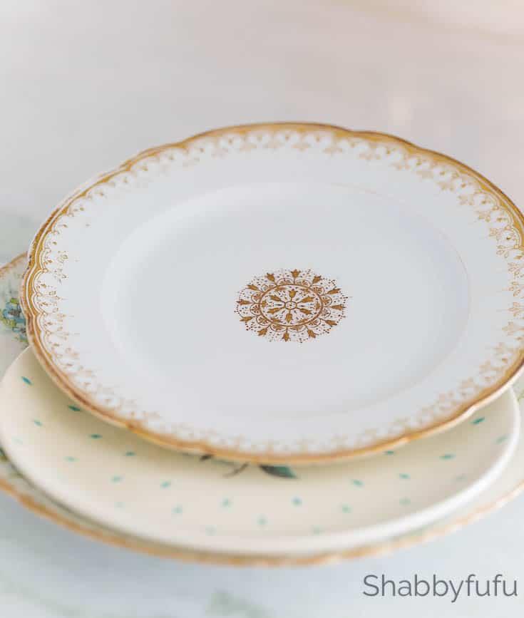 plate stand diy shabbyfufu