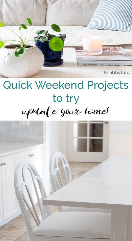quick weekend projects to try
