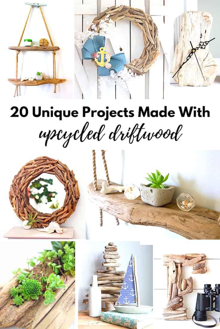 driftwood projects coastal diy