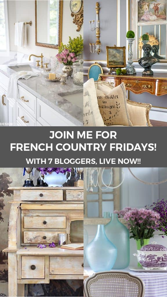French Country Fridays shabbyfufu.com