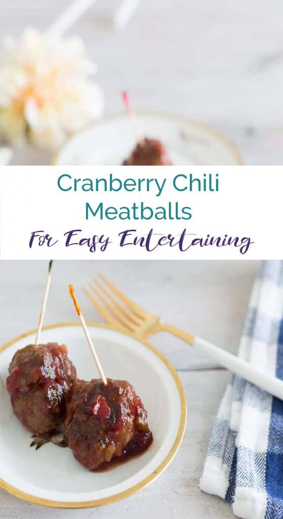 Cranberry Chili Meatballs