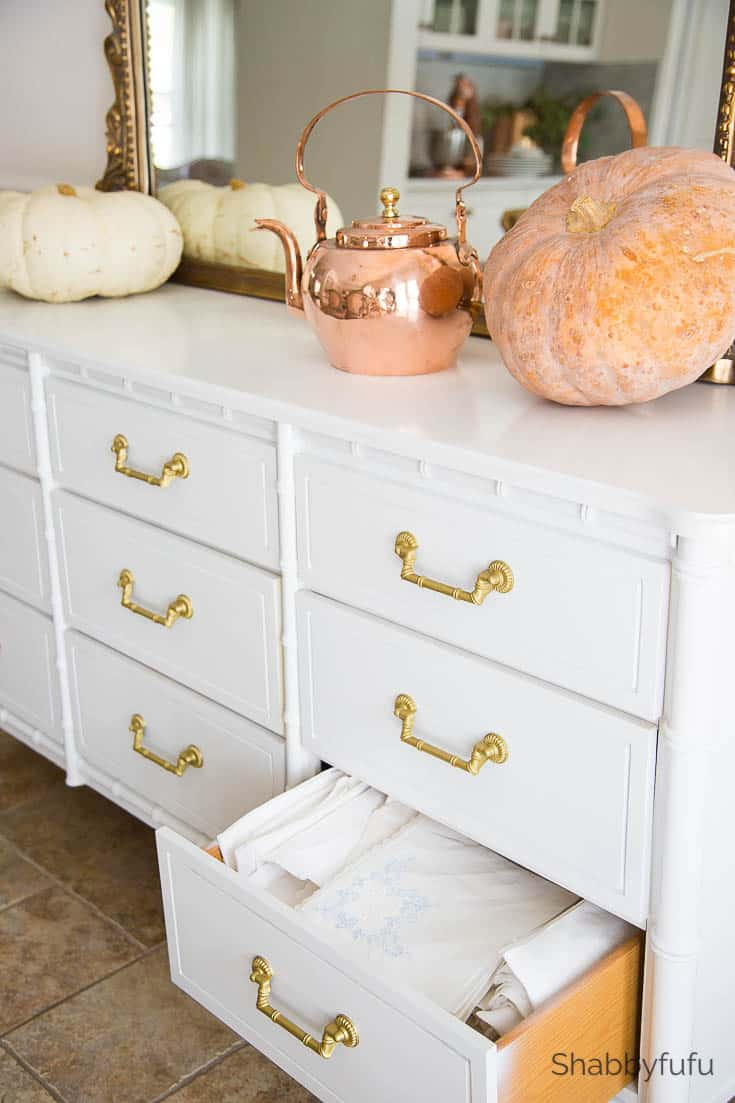 clever storage ideas buffet