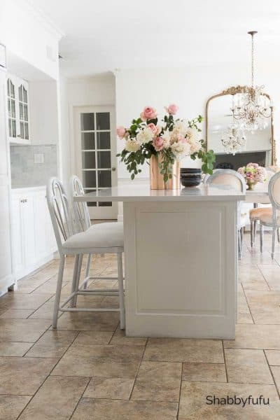 fall decorating ideas white kitchen