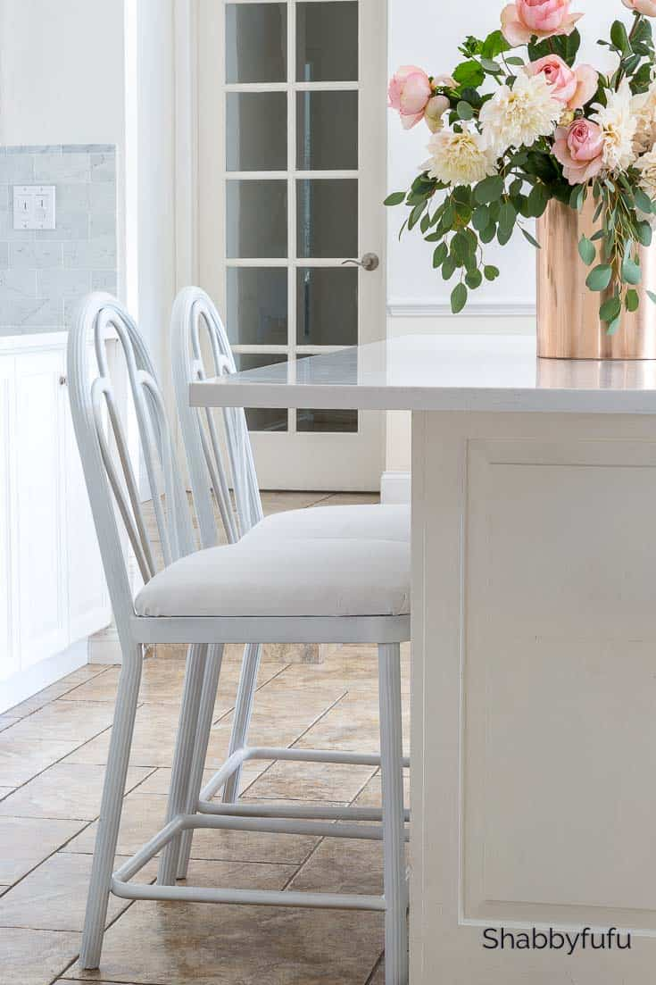 fall home decorating ideas white kitchen