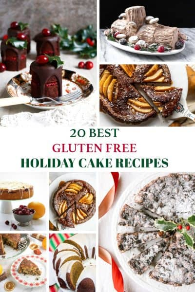 20 BEST Gluten Free Christmas Cake RECIPES