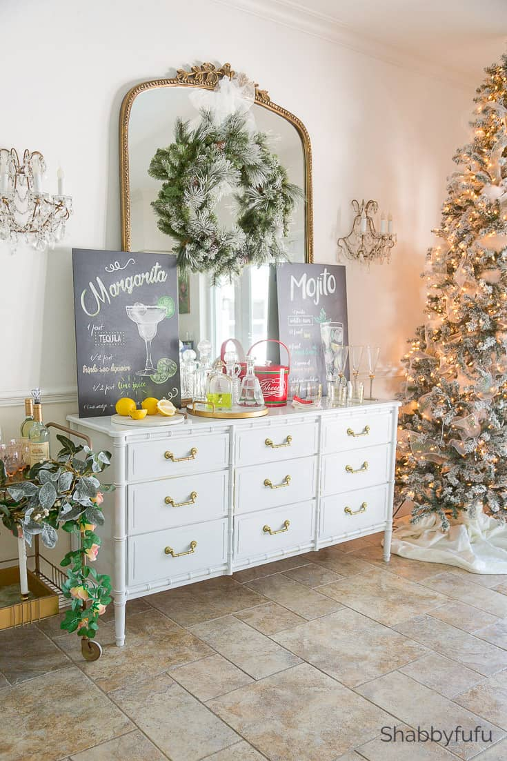 small dining spaces christmas party entertaining