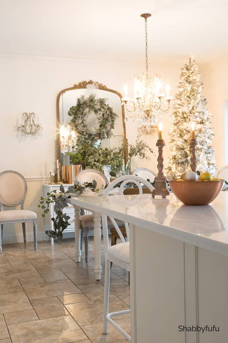 Farmhouse kitchens dressed for Christmas-2