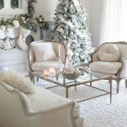 French Country Christmas Celebration – Living Room