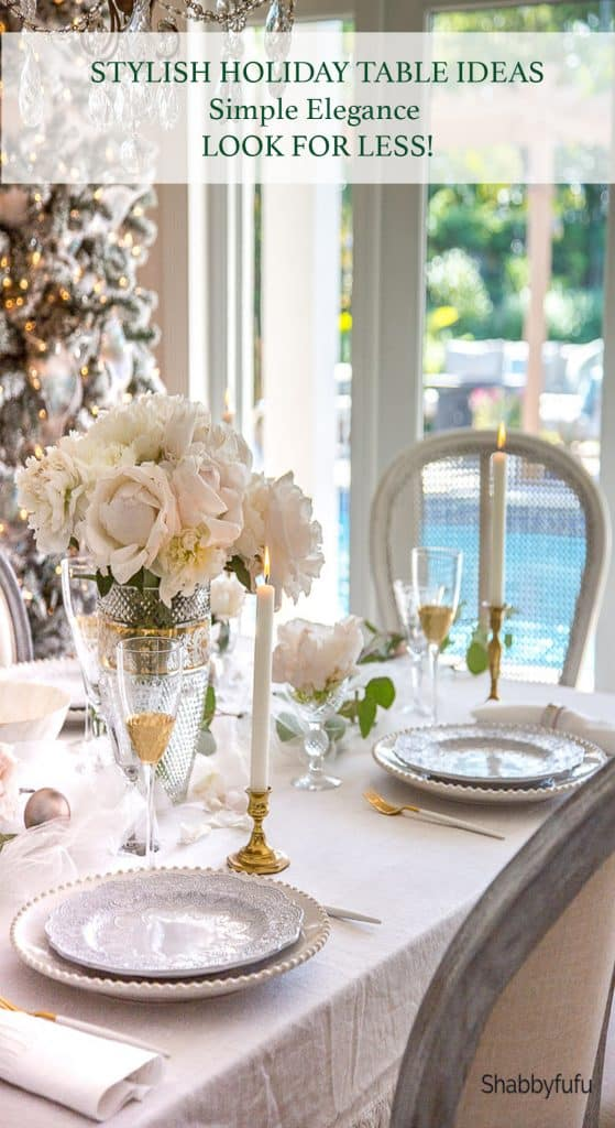 Stylish Holiday Table Ideas