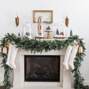 Home Style Saturdays 114 | Christmas Mantel | Stockings | Bedrooms