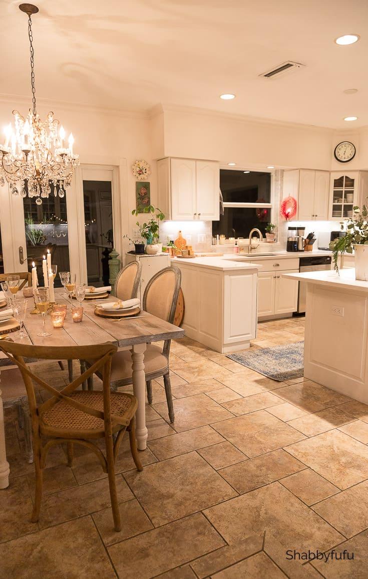 French farmhouse style kitchen shabbyfufu