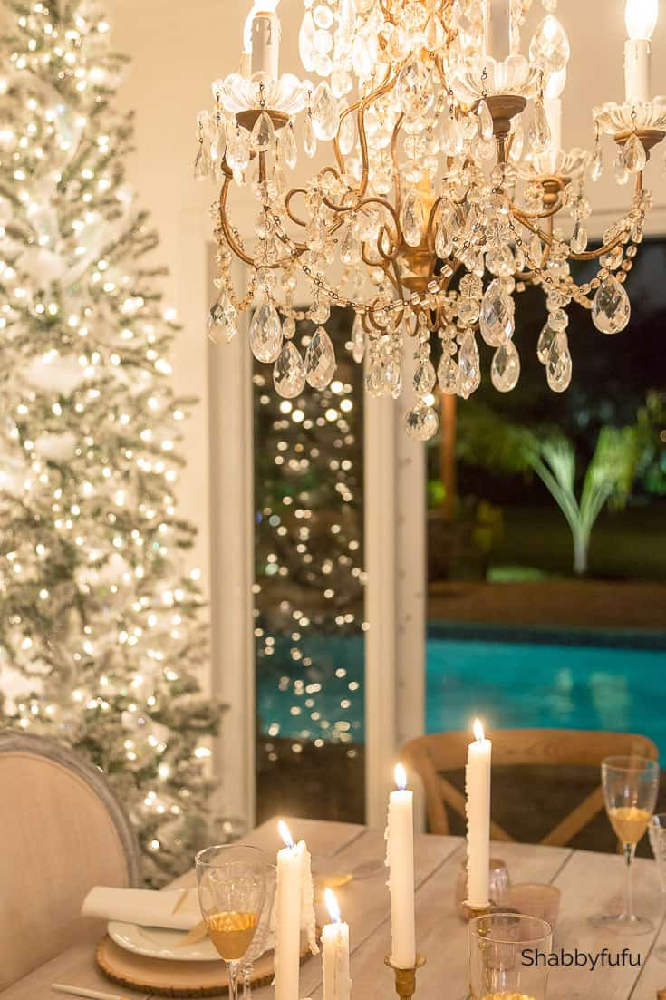 Christmas at night home tour in Miami