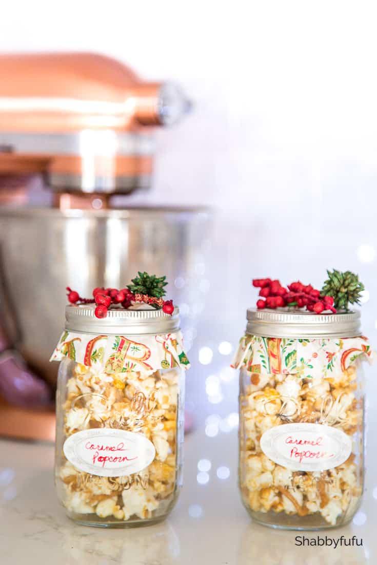 Cruncy Delicious Caramel Popcorn