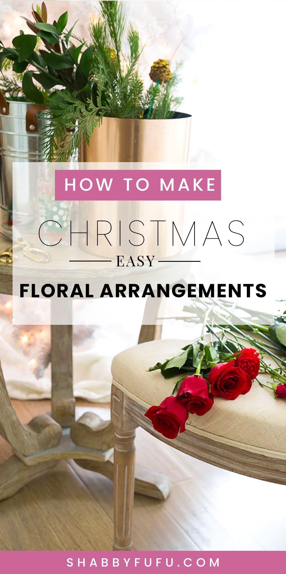 How To DIY Flower Arrangements For Friends