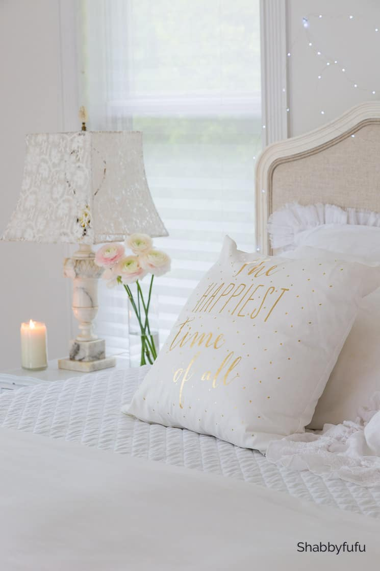 white christmas bedding