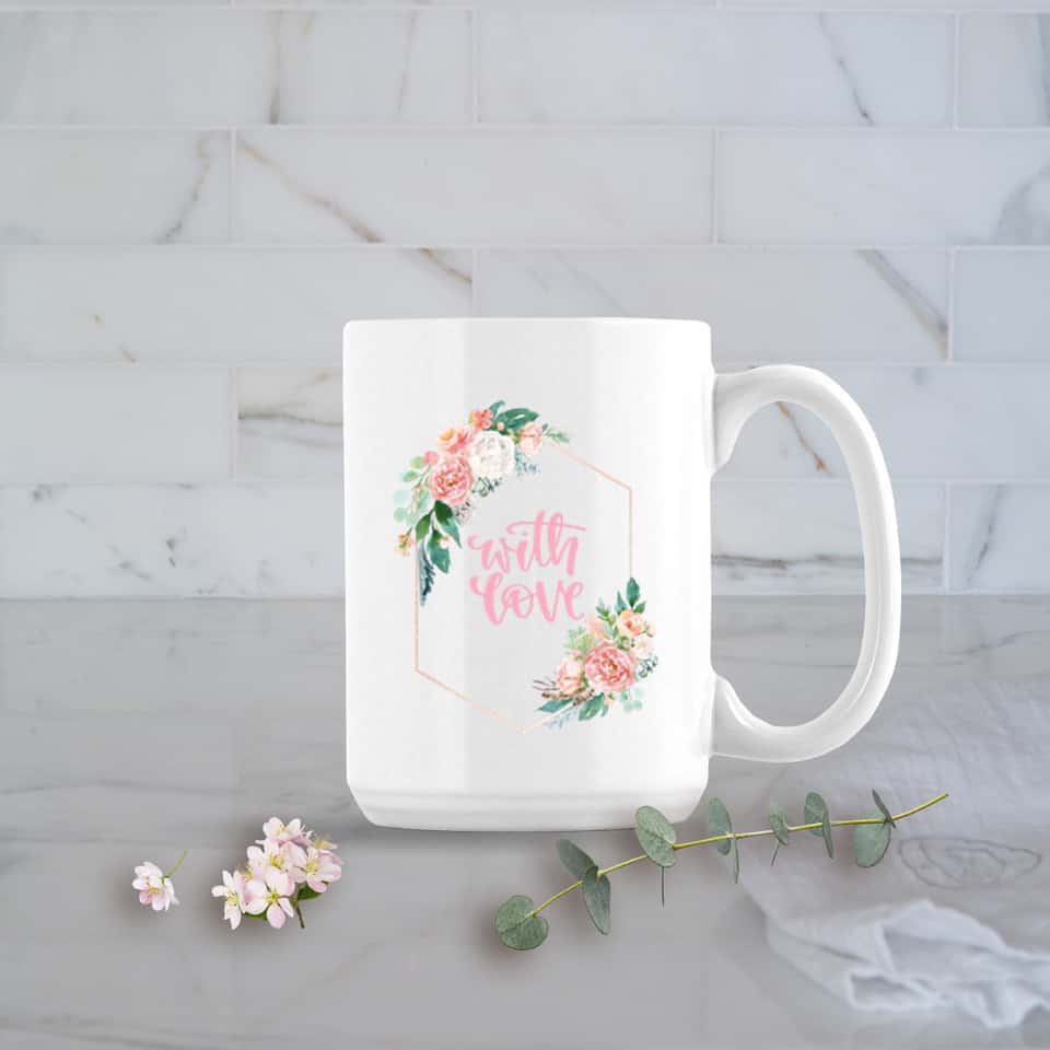 valentines day mug posh cottage shop #sff225