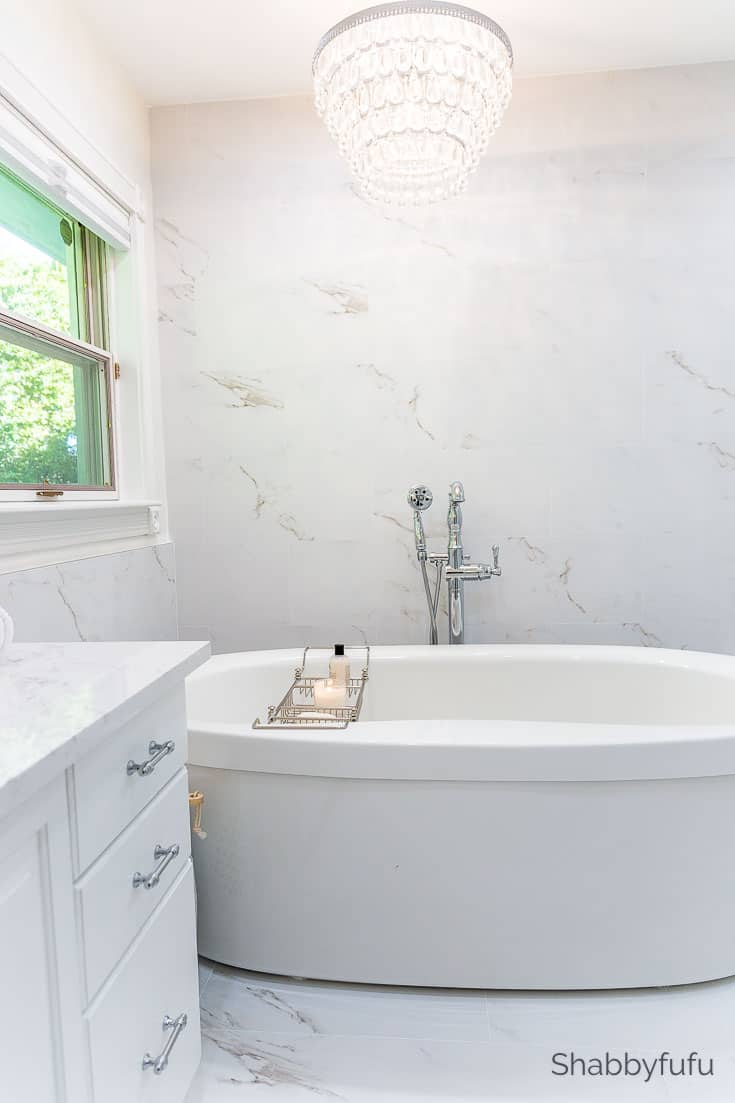 master bathroom makeover beautiful soaking tub