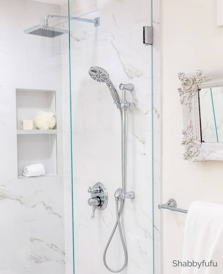 master bathroom makeover hotel look