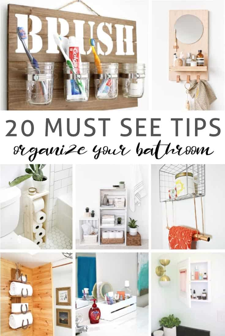 bathroom storage baskets and organization tips