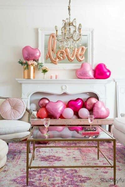 heart decorations valentines day decor