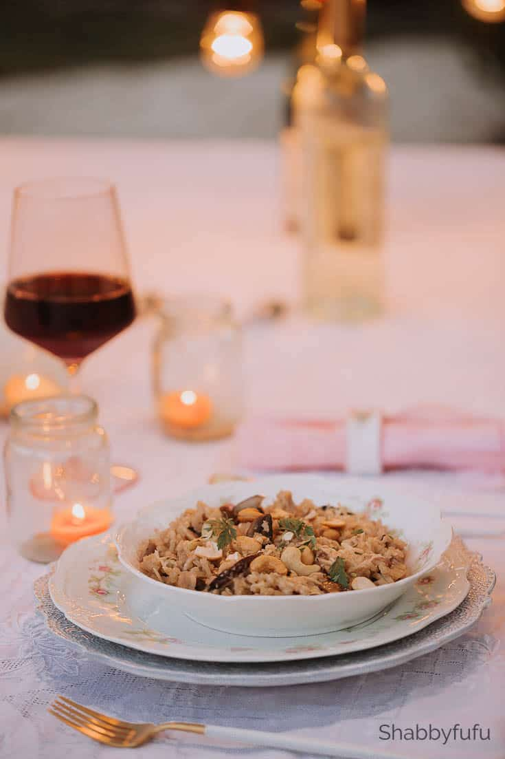 dinner ideas for two vegan risotto main dish
