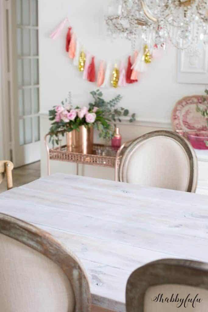 how to whitewash a farmhouse table