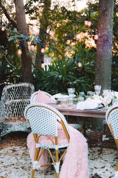 table decor tips Valentines Day Shabbyfufu