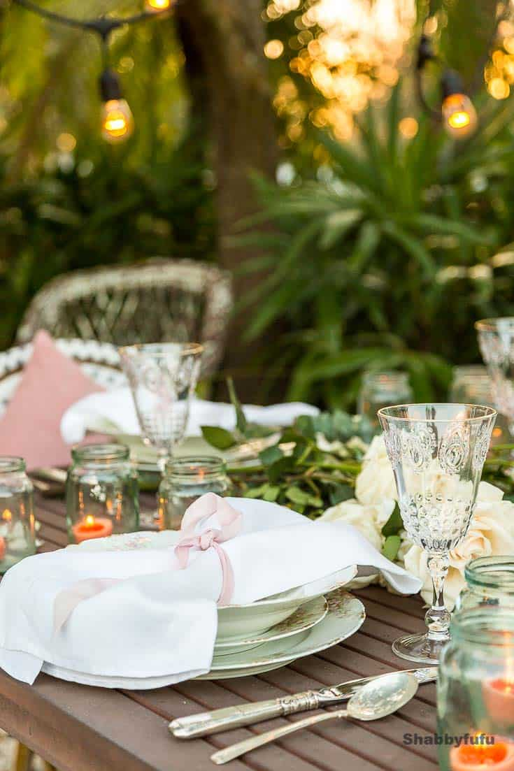 outdoor table setting tips dining