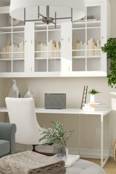 small home office design coastal