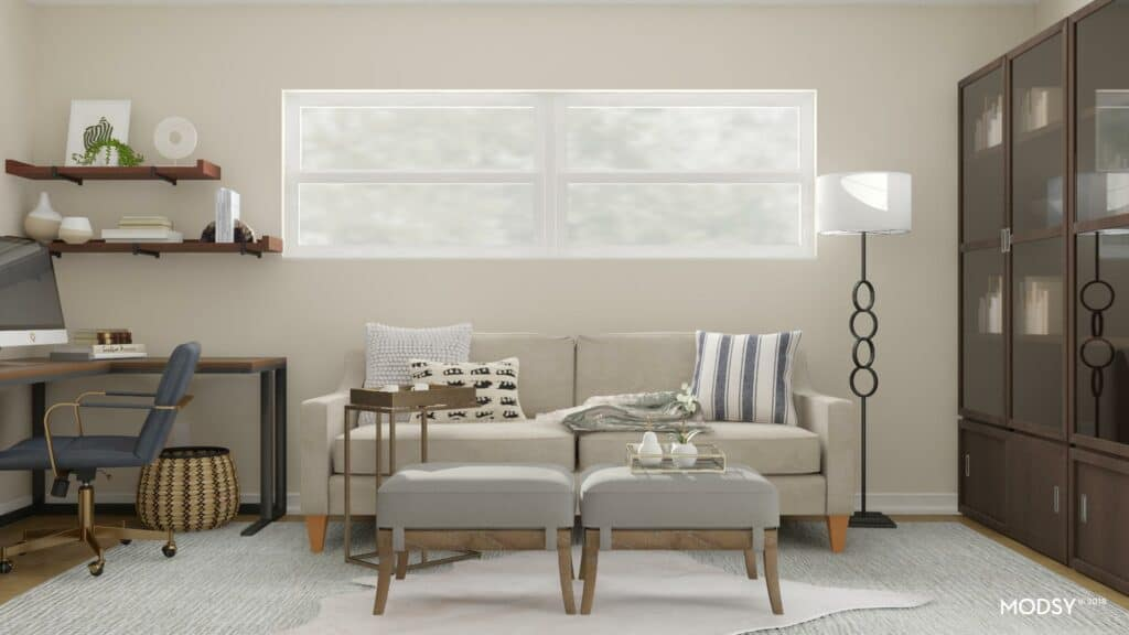 Small Home Office Design - Two Plans - shabbyfufu com
