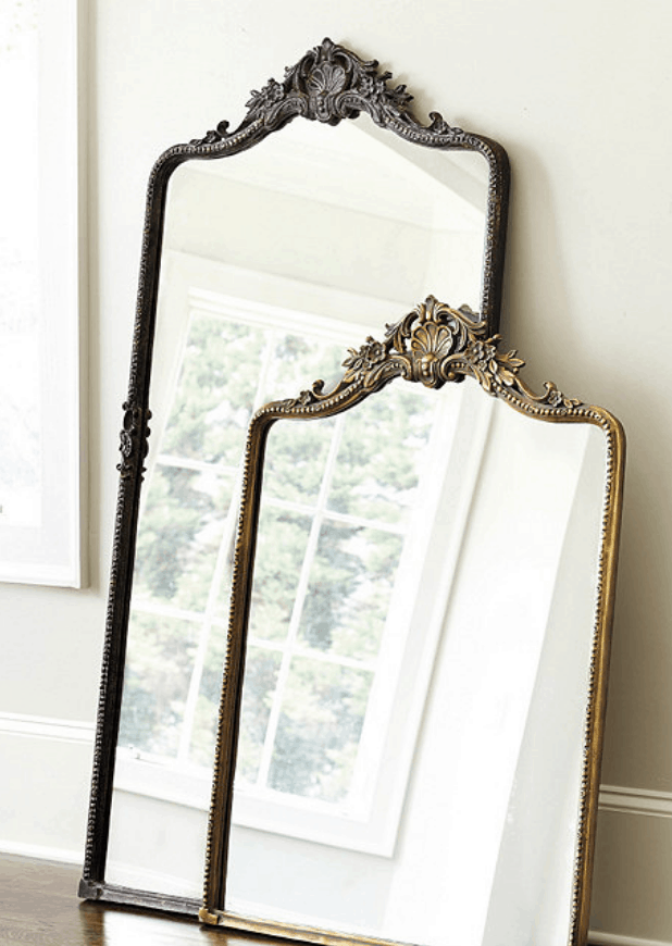 french floor mirror cheap