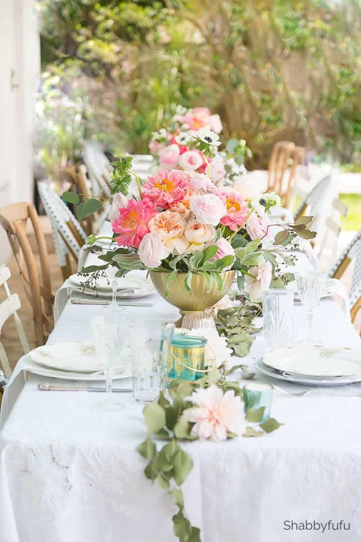 shabbyfufu diy wedding reception at home